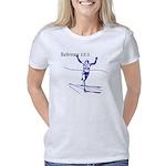 2-HB121runnerblue Women's Classic T-Shirt