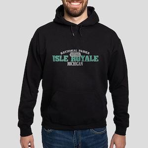 Isle Royale National Park MI Hoodie (dark)
