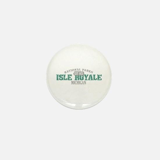 Isle Royale National Park MI Mini Button