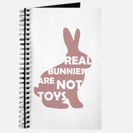 REAL BUNNIES ARE NOT TOYS - P Journal
