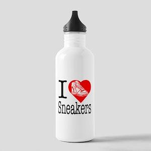 I Love Bling! I Heart Bling! Stainless Water Bottl