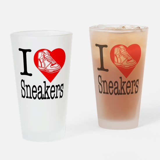 I Love Bling! I Heart Bling! Drinking Glass