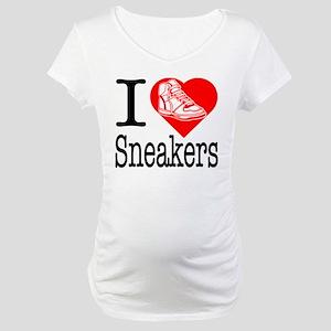 I Love Bling! I Heart Bling! Maternity T-Shirt