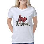 I Heart Bacon Women's Classic T-Shirt