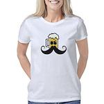 Beer Mustache Women's Classic T-Shirt
