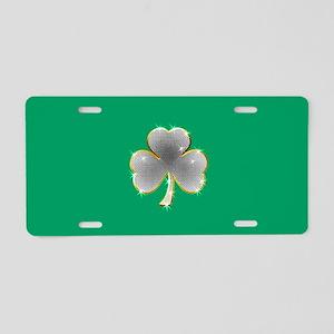 Clover Bling Aluminum License Plate