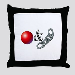 Ball & Chain Throw Pillow