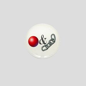 Ball & Chain Mini Button