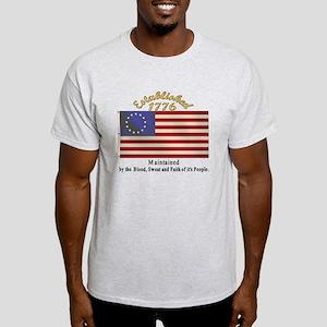 Established 1776 Ash Grey T-Shirt