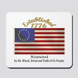 Established 1776 Mousepad