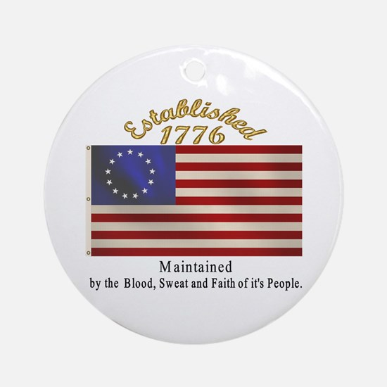 Established 1776 Ornament (Round)