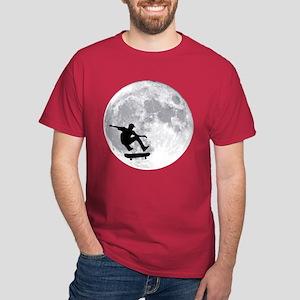 Moon skateboard Dark T-Shirt