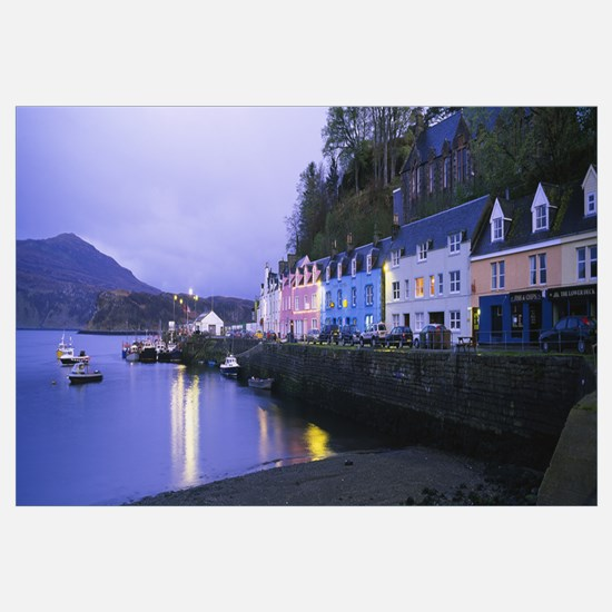 Buildings on the waterfront, Portree, Isle of Skye