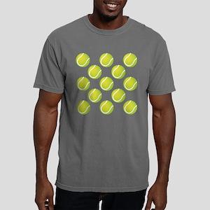 Tennis Balls Mens Comfort Color T-Shirts