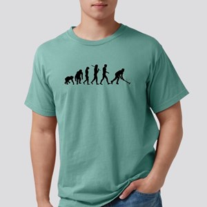 Field Hockey Evolution Mens Comfort Color T-Shirts