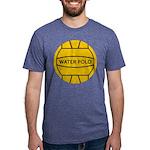 Water Polo Ball Mens Tri-blend T-Shirts