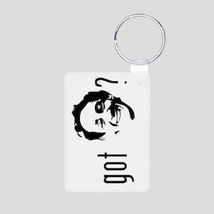 Harvey Milk Aluminum Photo Keychain