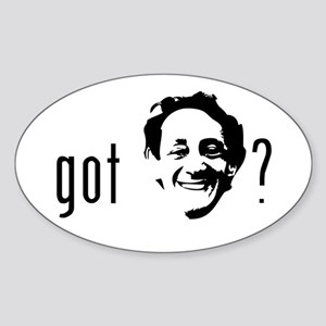 Harvey Milk Sticker (Oval)