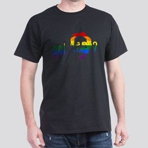 Rainbow Harvey Milk Dark T-Shirt