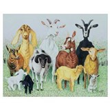 Goat Wrapped Canvas Art