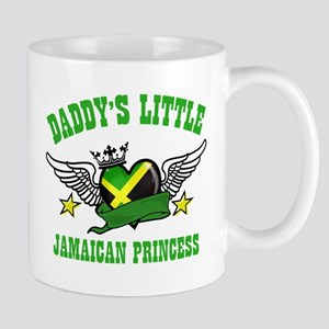 Daddy's Little Jamaican Princess Mug
