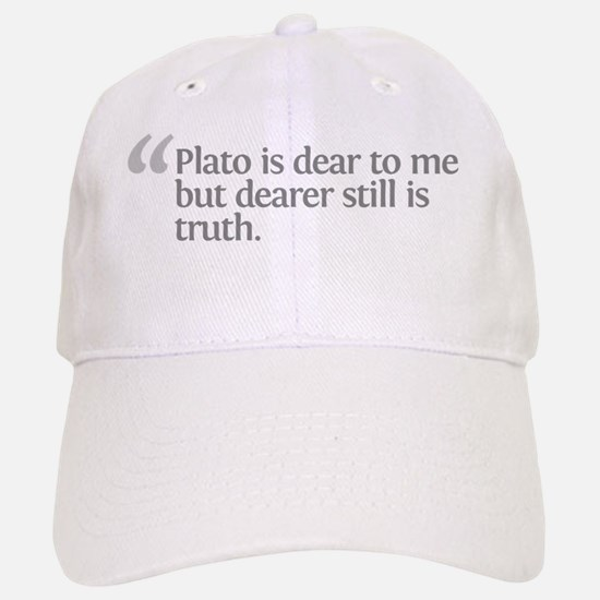 Aristotle Plato is dear Baseball Baseball Cap