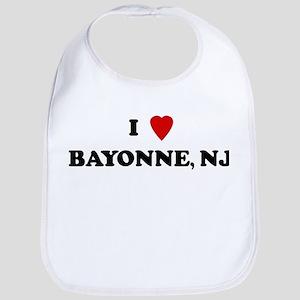 I Love Bayonne Bib