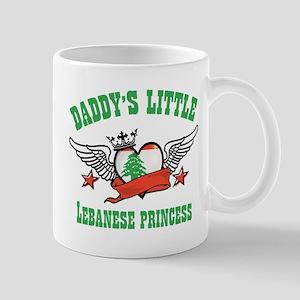 Daddy's Little Lebanese Princess Mug