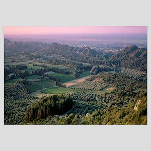 France, Les Baux Provence, landscape