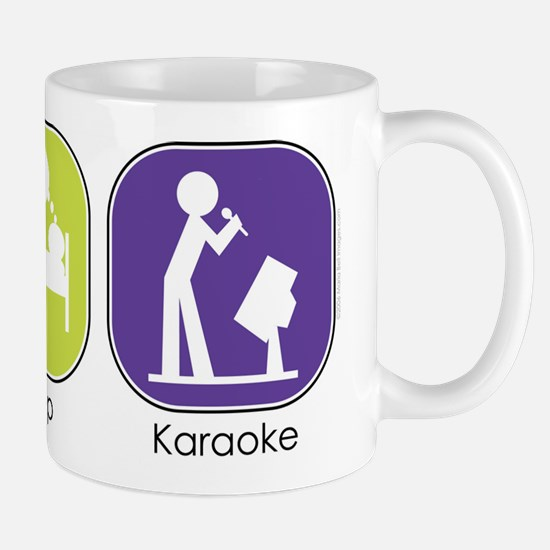 Eat Sleep Karaoke Mug