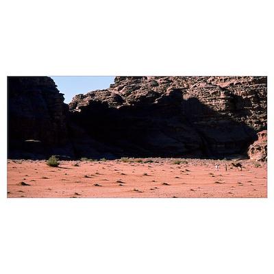 Jordan, Wadi Rum Poster
