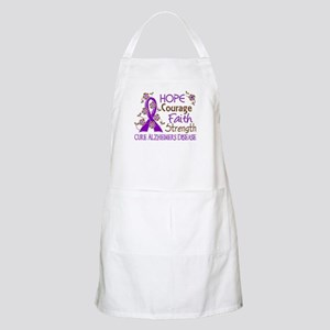 Hope Courage Faith Alzheimers Apron