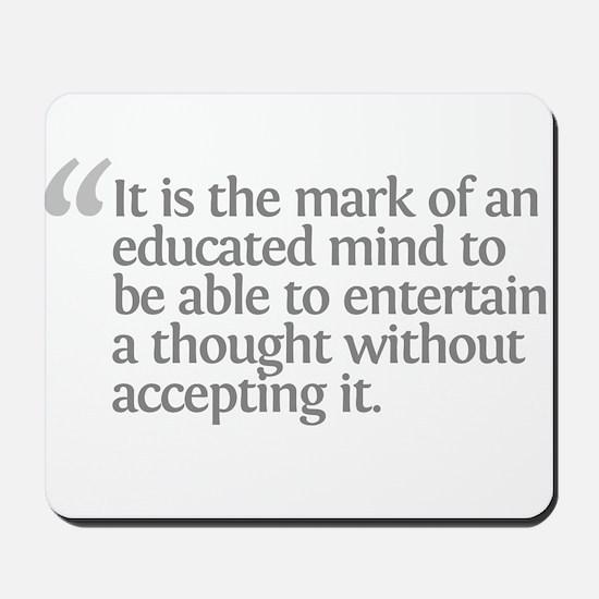 Aristotle It is the mark Mousepad