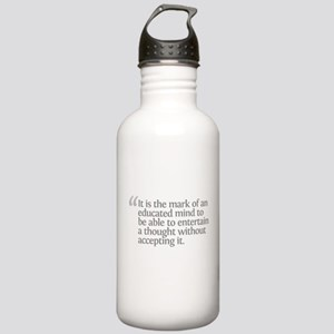 Aristotle It is the mark Stainless Water Bottle 1.