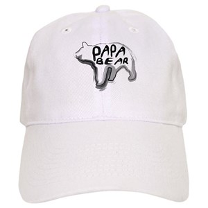 Papa Bear Hats - CafePress 17fdeaeb27b3