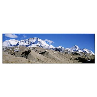 Nepal, Cho Oyu Mountain Poster