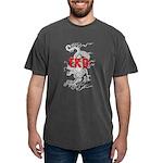 Taekwondo Dragon Mens Comfort Color T-Shirts