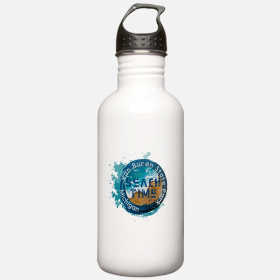 Michigan - Van Buren S Water Bottle