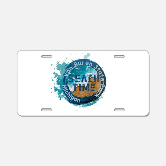 Michigan - Van Buren State Aluminum License Plate