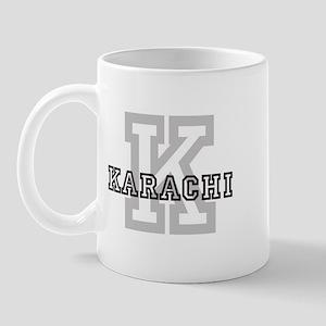 Letter K: Karachi Mug