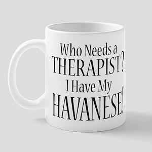 THERAPIST Havanese Mug