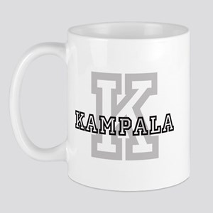 Letter K: Kampala Mug