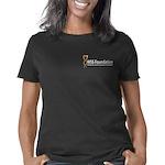 White Text Women's Classic T-Shirt