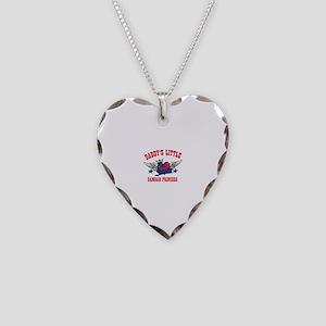 Daddy's Little Samoan Princess Necklace Heart Char