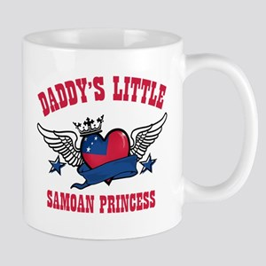 Daddy's Little Samoan Princess Mug