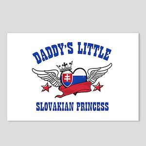 Daddy's Little Slovakian Princess Postcards (Packa