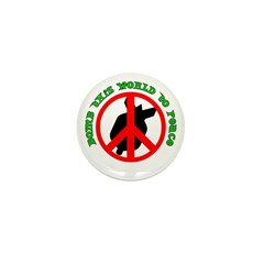 PEACE BOMB Mini Button (10 pack)