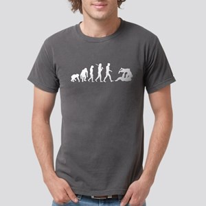 Evolution of Judo Mens Comfort Color T-Shirts