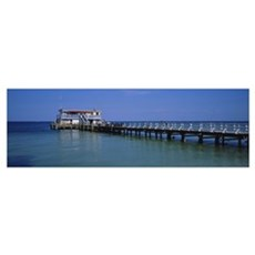 Rod and Reel Fishing Pier, Anna Maria Island, Gulf Poster