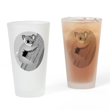 Koala Drinking Glass